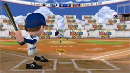 In game image of MLB® Bobblehead Battle on the Microsoft Xbox Live Arcade.
