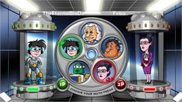 In game image of Math Fighter on the Microsoft Xbox Live Arcade.