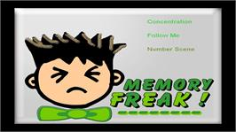 In game image of Memory Freak on the Microsoft Xbox Live Arcade.