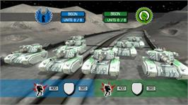 In game image of Military Madness on the Microsoft Xbox Live Arcade.
