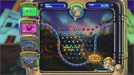 In game image of Peggle on the Microsoft Xbox Live Arcade.