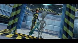 In game image of Perfect Dark on the Microsoft Xbox Live Arcade.