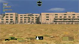 In game image of Perfect Shooting Training Camp on the Microsoft Xbox Live Arcade.