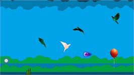 In game image of PerturBirds on the Microsoft Xbox Live Arcade.