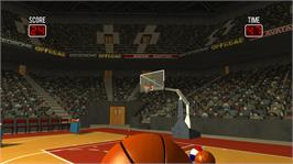In game image of Pro Basketball Shooter on the Microsoft Xbox Live Arcade.