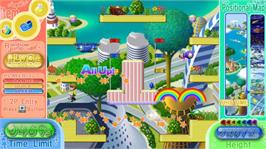 In game image of RAINBOW ISLANDS: T.A. on the Microsoft Xbox Live Arcade.