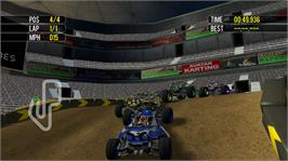In game image of Racedrome Offroad on the Microsoft Xbox Live Arcade.