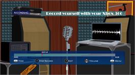 In game image of Recording Studio on the Microsoft Xbox Live Arcade.