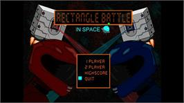 In game image of Rectangle Battle on the Microsoft Xbox Live Arcade.