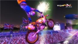 In game image of Red Bull X-Fighters on the Microsoft Xbox Live Arcade.
