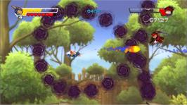 In game image of Rocket Knight® on the Microsoft Xbox Live Arcade.