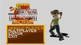 In game image of S. Avatar Fighting Tournament on the Microsoft Xbox Live Arcade.