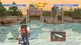 In game image of SEGA Bass Fishing on the Microsoft Xbox Live Arcade.