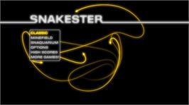 In game image of SNAKESTER on the Microsoft Xbox Live Arcade.
