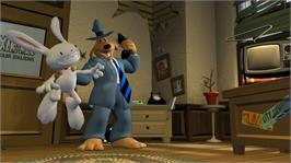 In game image of Sam&Max Save the World on the Microsoft Xbox Live Arcade.