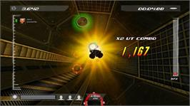In game image of Screwjumper! on the Microsoft Xbox Live Arcade.