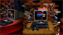 In game image of Sega Vintage Collection: Streets of Rage on the Microsoft Xbox Live Arcade.