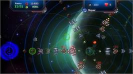 In game image of Sideral Defense on the Microsoft Xbox Live Arcade.