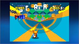 In game image of Sonic The Hedgehog 2 on the Microsoft Xbox Live Arcade.