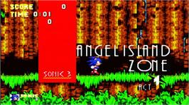 In game image of Sonic The Hedgehog 3 on the Microsoft Xbox Live Arcade.