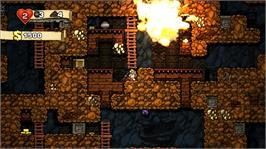 In game image of Spelunky on the Microsoft Xbox Live Arcade.