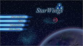 In game image of StarWings on the Microsoft Xbox Live Arcade.