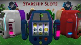 In game image of Starship Slots on the Microsoft Xbox Live Arcade.