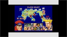 In game image of Street Fighter II' HF on the Microsoft Xbox Live Arcade.