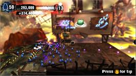 In game image of Swarm on the Microsoft Xbox Live Arcade.