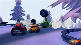 In game image of TNT Racers on the Microsoft Xbox Live Arcade.