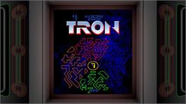 In game image of TRON on the Microsoft Xbox Live Arcade.