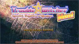 In game image of TROUBLE WITCHES NEO on the Microsoft Xbox Live Arcade.