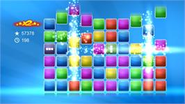 In game image of Tap Blox on the Microsoft Xbox Live Arcade.