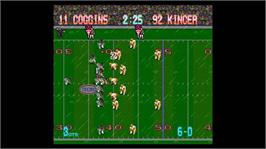 In game image of Tecmo Bowl Throwback® on the Microsoft Xbox Live Arcade.