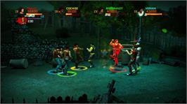 In game image of The Warriors: SB on the Microsoft Xbox Live Arcade.