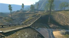 In game image of Trials Evolution on the Microsoft Xbox Live Arcade.