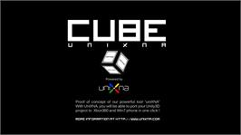 In game image of UniXNA : Cube on the Microsoft Xbox Live Arcade.