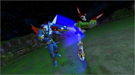 In game image of Voltron on the Microsoft Xbox Live Arcade.