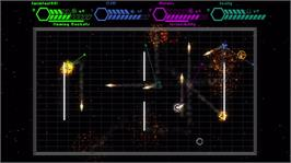 In game image of Warp Shooter on the Microsoft Xbox Live Arcade.