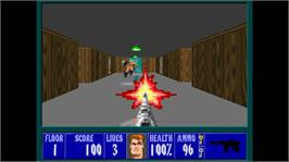 In game image of Wolfenstein 3D on the Microsoft Xbox Live Arcade.