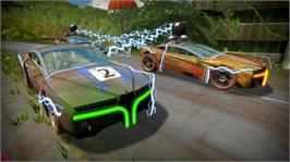 In game image of Wrecked Revenge Revisited on the Microsoft Xbox Live Arcade.