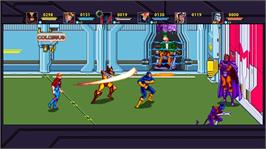 In game image of X-MEN on the Microsoft Xbox Live Arcade.