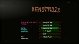 In game image of XenoTroid on the Microsoft Xbox Live Arcade.