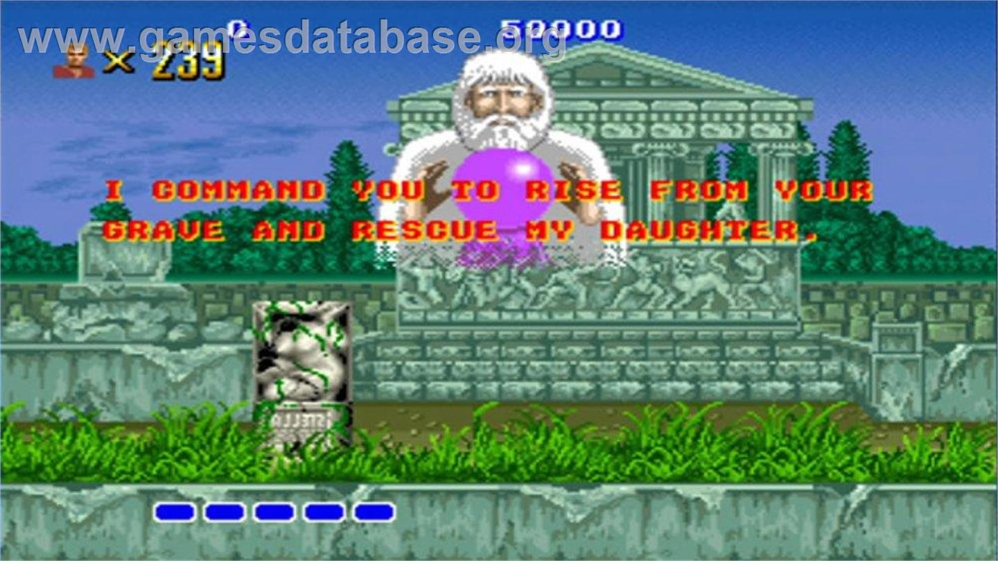 Altered Beast - Microsoft Xbox Live Arcade - Artwork - In Game