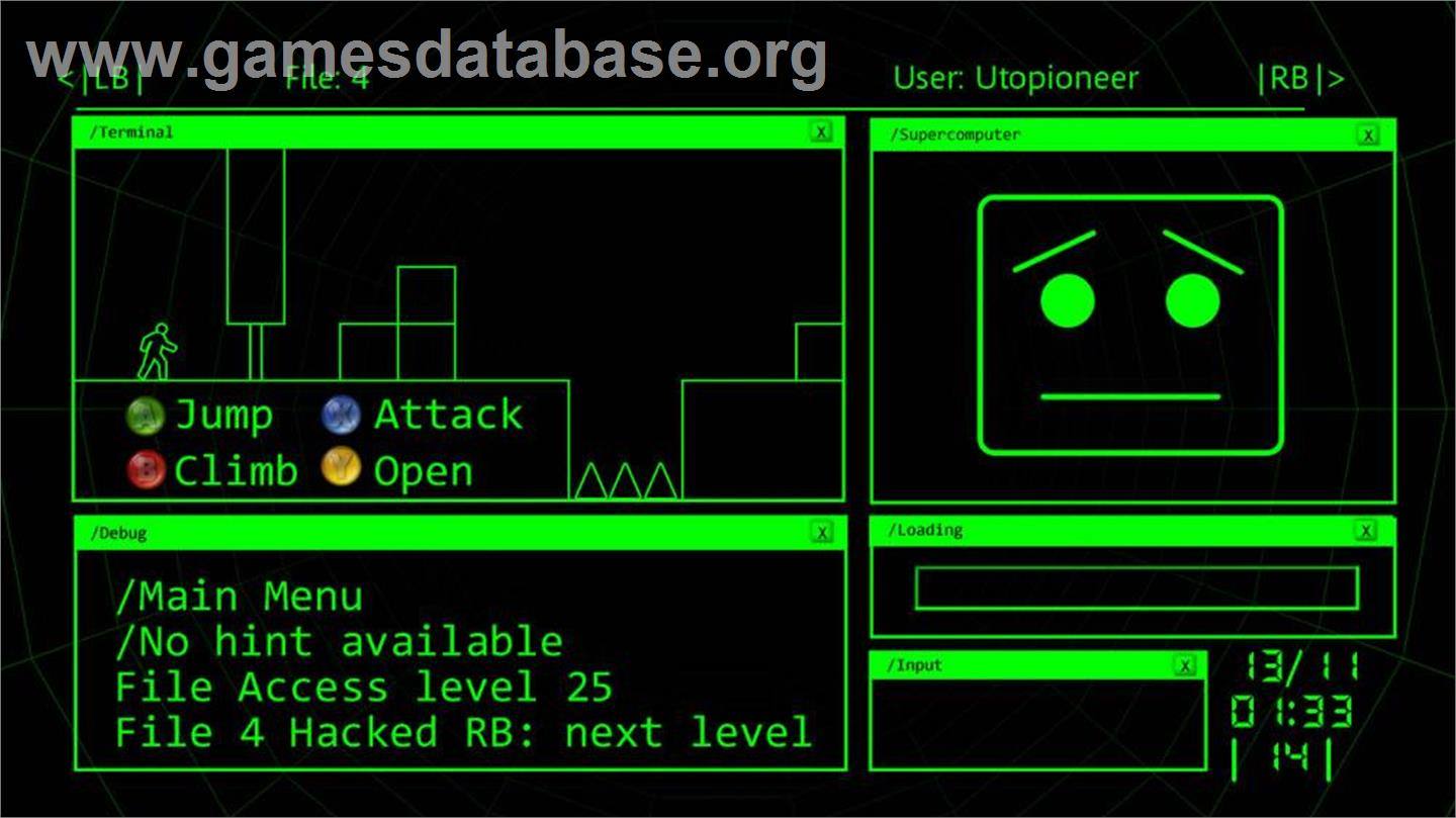 Hack This Game 3 - Microsoft Xbox Live Arcade - Games Database