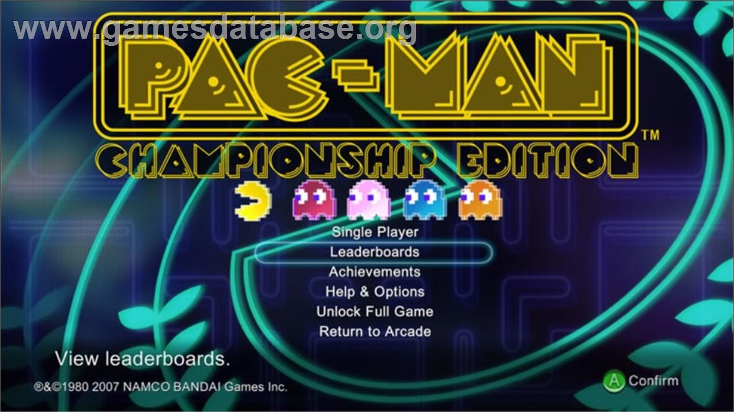 Pac-Man C.E. - Microsoft Xbox Live Arcade - Artwork - In Game