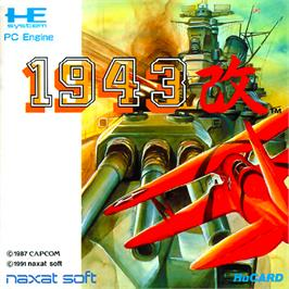 Box cover for 1943 Kai on the NEC PC Engine.