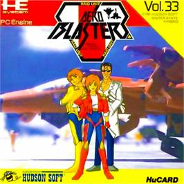 Box cover for Air Buster on the NEC PC Engine.