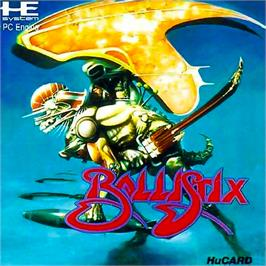 Box cover for Ballistix on the NEC PC Engine.