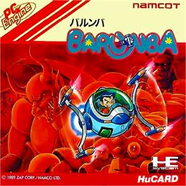 Box cover for Barunba on the NEC PC Engine.
